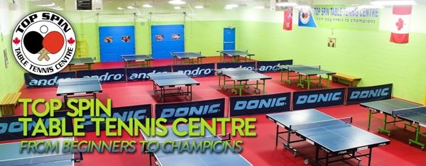 10 Year Anniversary Tournament at TOP SPIN Table Tennis Center