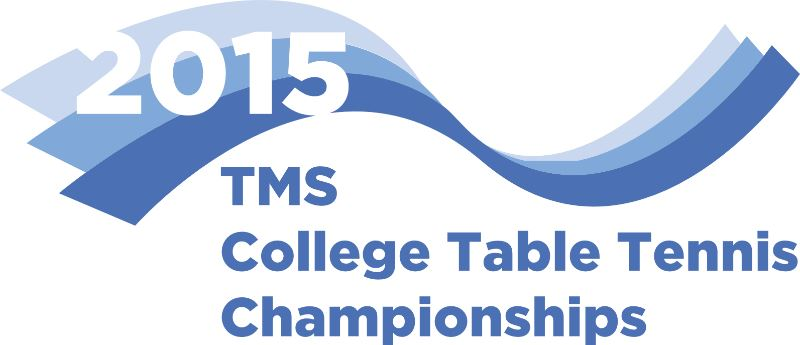 2015 TMS College Table Tennis National Championships