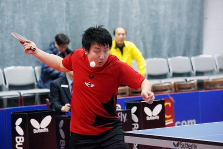 Wang Zhen at ITTF World Tour German Open