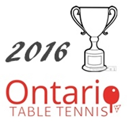 Ontario Championships 2016 – Draw for U2400 and U15G