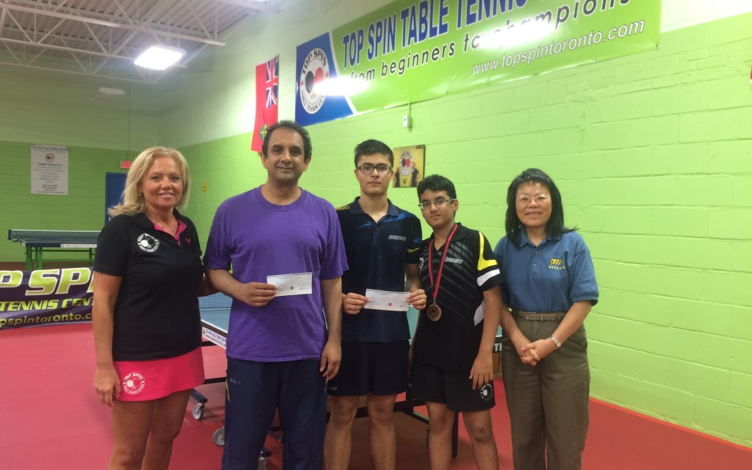 TOP SPIN Fall Open – Results