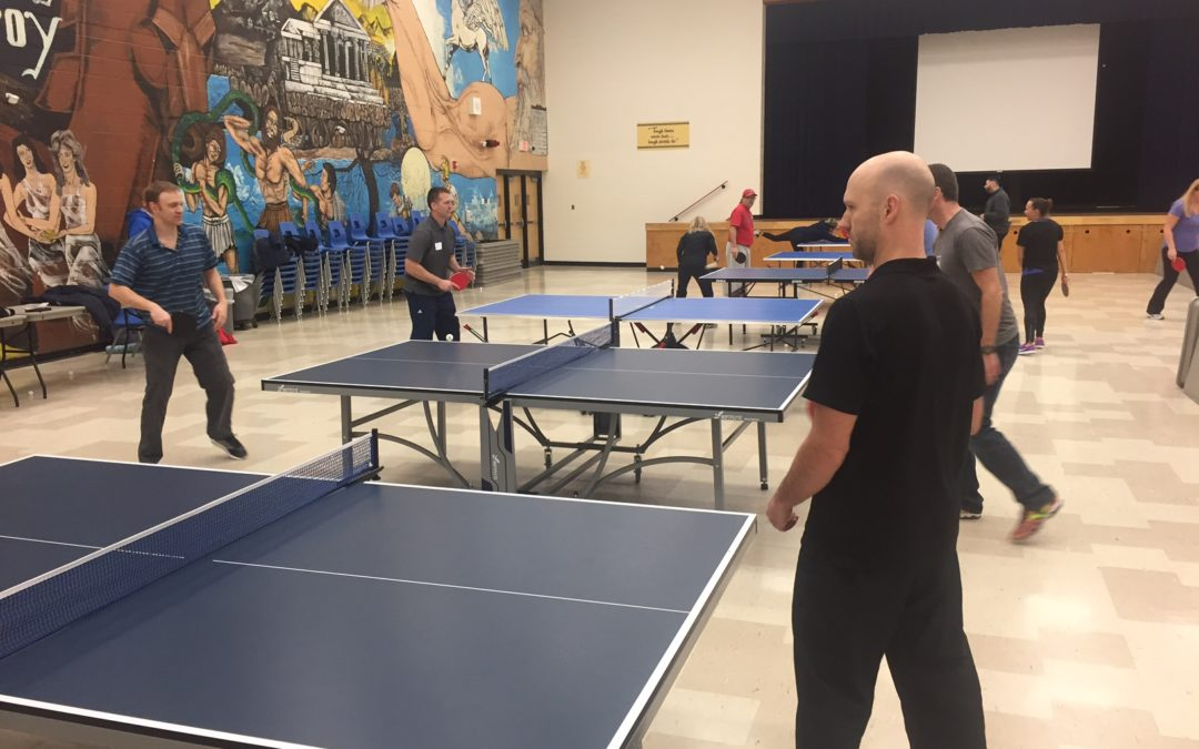 Table Tennis at Peel District School Board