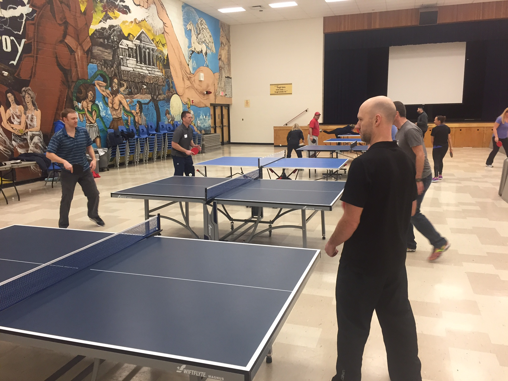 Table Tennis at Peel District School Board