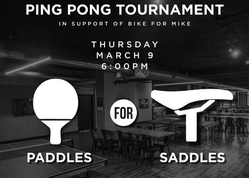 In Support of Bike for Mike – Ping Pong Tournament