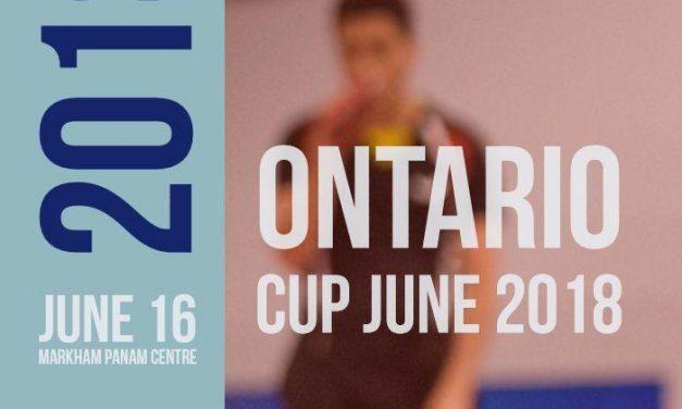 Ontario Cup June 2018