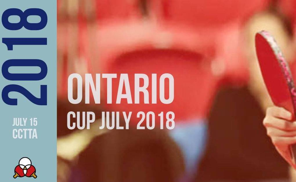 Ontario Cup July 2018