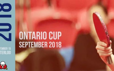 Ontario Cup September 2018