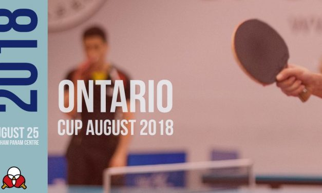 Ontario Cup August 2018