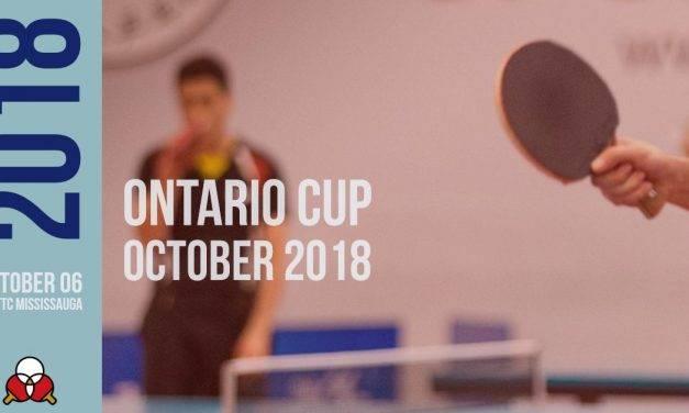 Ontario Cup October 2018