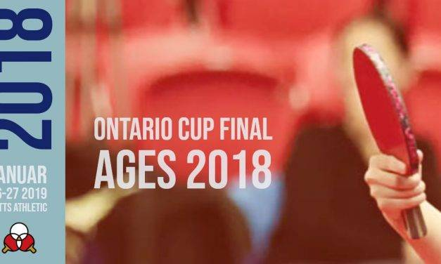 Ontario Cup Final Age 2018