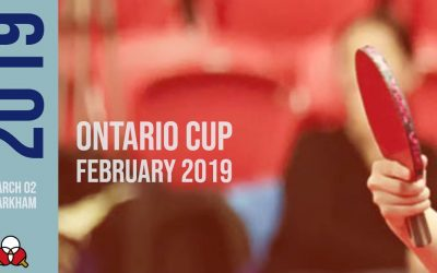 Ontario Cup February 2019