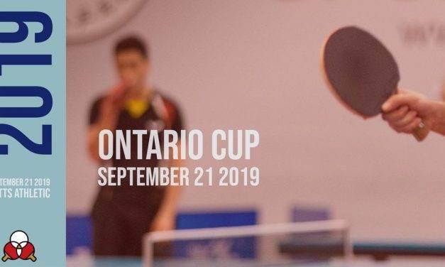Ontario Cup September 21 2019
