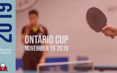 Ontario Cup November 16 2019