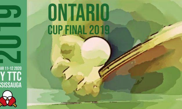 Ontario Cup Final 2019