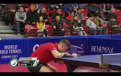 2019 ITTF North American Open – Wang Eugene vs Darko Jorgic