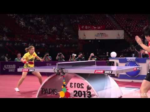Table Tennis in Slow Motion